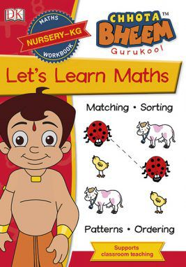 Chota Bheem GuruKool Let's Learn Maths (Nursery-KG)
