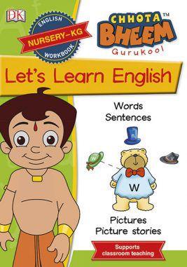 Chota Bheem GuruKool Let's Learn English (Nursery-KG)