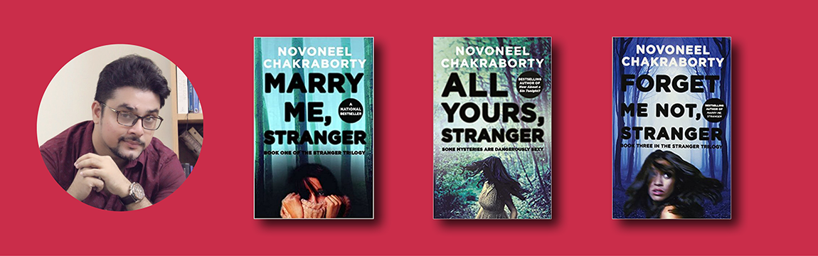 Novoneel Chakraborty's The Stranger Trilogy to be adapted into a
